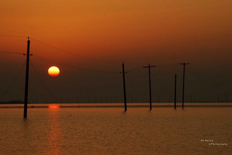 Sunset at Birds Astagram Kishorganj