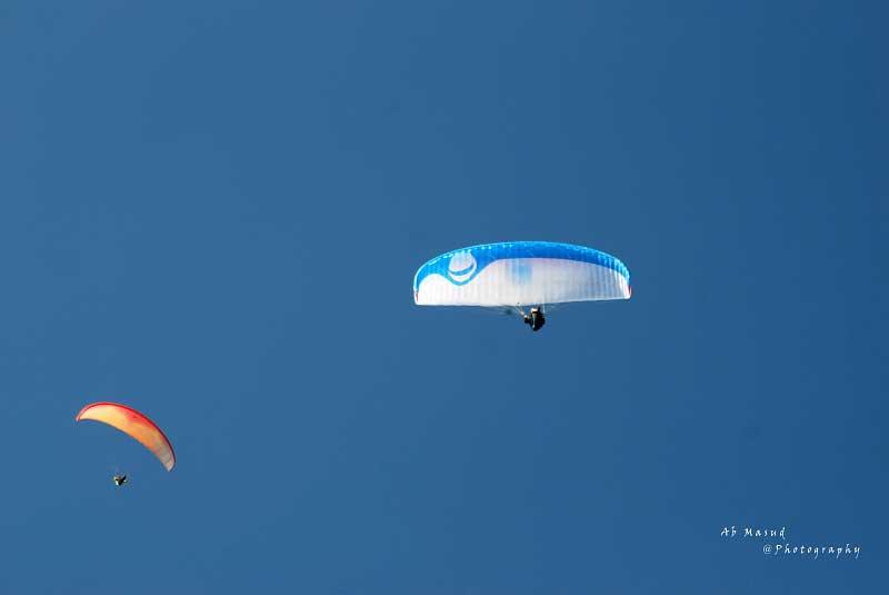 Paragliding at Sarangkot