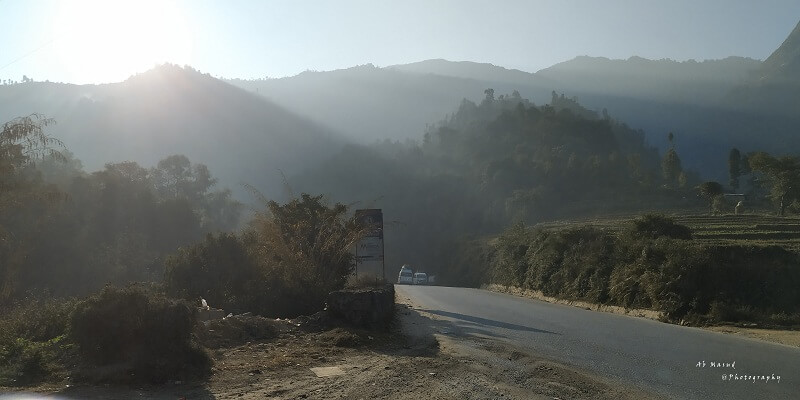 Way to Pokhara