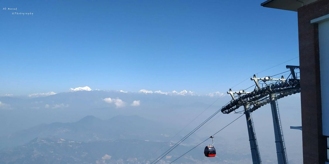 Chandragiri hill cable katmundu
