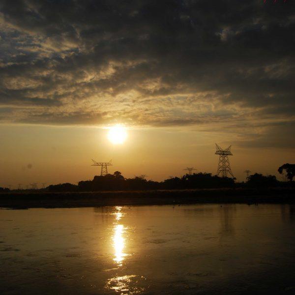 Sunset at Borderline, Tetulia
